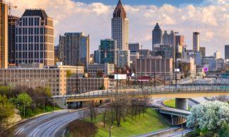 Atlanta par vol American Airlines à partir de € 634